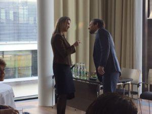 Yuri van Geest met Anne Luwema