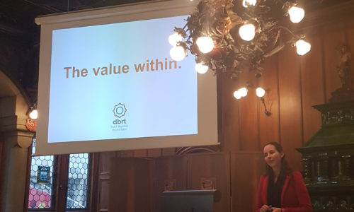 Maike van Oyen at the HR Summit 2017 in Zurich