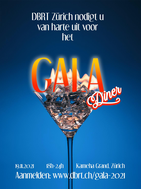 Flyer DBRT gala 2021 voor linkedin